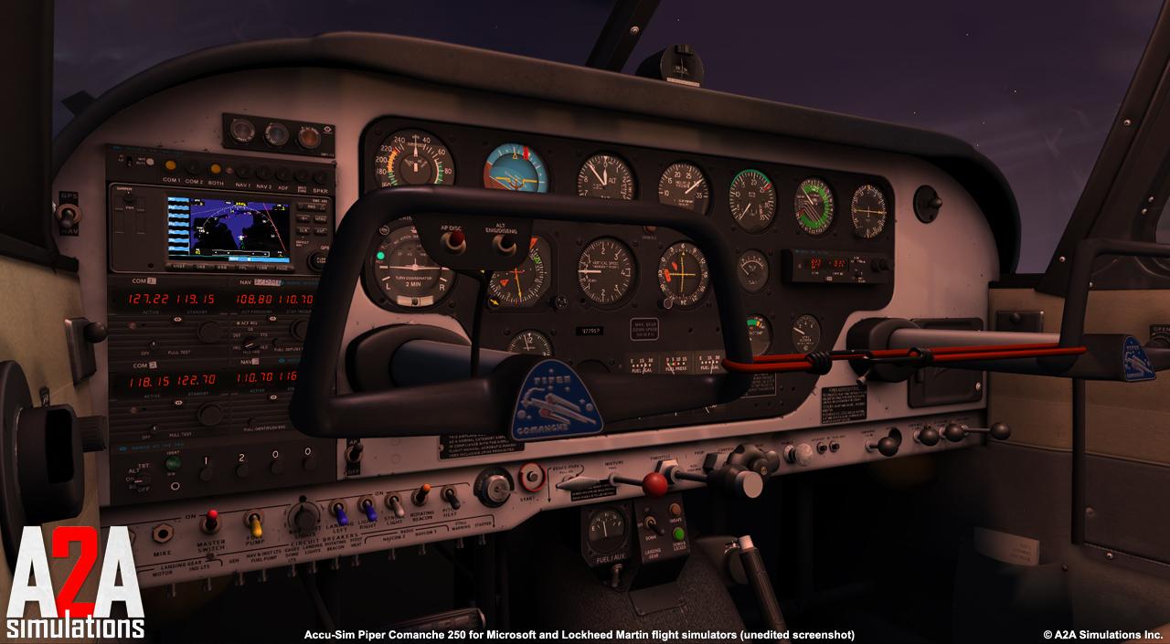 Accu-sim Comanche 250 (P3Dv3-4)