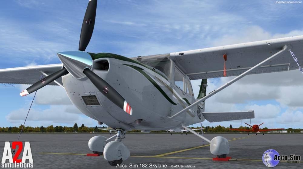 Accu-sim C182 Skylane (FSX)